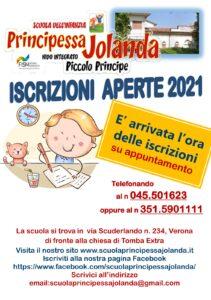 Iscrizioni Aperte A.S. 2021/2022